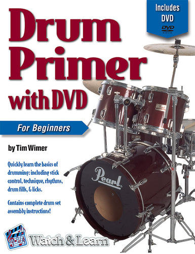 Drum Primer Book For Beginners with DVD