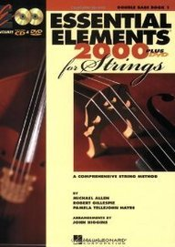 Essential Elements 2000 for Strings: Double Bass Book 1 CD/DVD