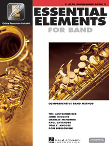 Essential Elements for Band Alto Saxophone Book 2