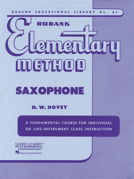 Elementary Method Saxophone