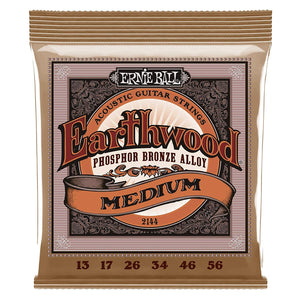 Ernie Ball 2144 Phosphor Studio Bronze Medium 13 56 Acoustic Guitar Strings