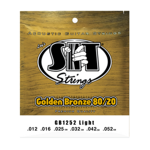 S.I.T. GB1252 Light Golden Bronze Acoustic Guitar Strings