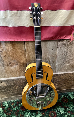 Dobro Original Round Neck w/Pickup 1930's - Used