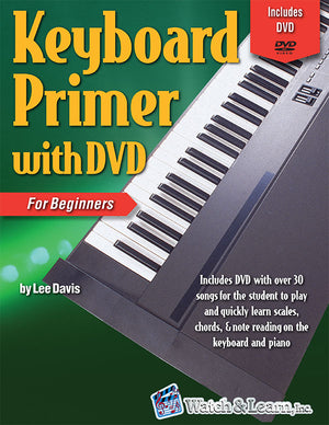 Keyboard Primer Book For Beginners with DVD
