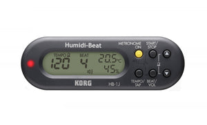 Korg HB-1 Humidi-Beat Metronome with Humidity/Temperature Detector Black