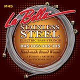 La Bella M45 Stainless Steel 45-105 Electric Bass Guitar Strings
