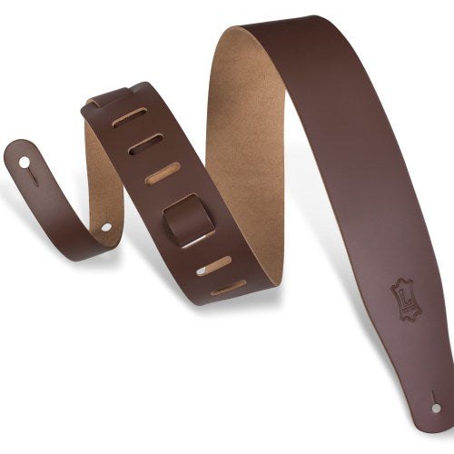 Levy's M26-BRN Genuine Leather Guitar Strap