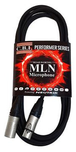 CBI Cables MLN 3ft Microphone Cable