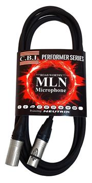 CBI 2ft MLN Microphone Cable