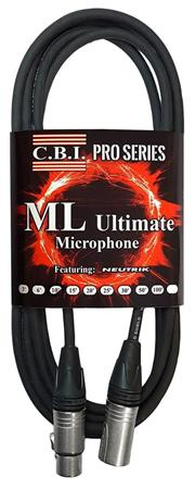 CBI Cables ML Ultimate 50ft Microphone Cable Green