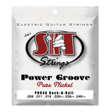 S.I.T. PN946 Rock N Roll Power Groove Pure Nickel Electric Guitar Strings