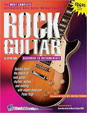 Rock Guitar Book with CD