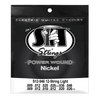 S.I.T. S12-946 12 String Light Power Wound Nickel Electric Guitar Strings