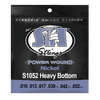 S.I.T. S1052 Heavy Bottom Power Wound Nickel Electric Guitar Strings