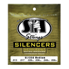 S.I.T. GL1356 Medium Silencers Golden Bronze 13-56 Acoustic Guitar Strings