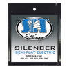 S.I.T. SL946 Rock N Roll Silencer Semi-Flat 9-46 Electric Guitar Strings