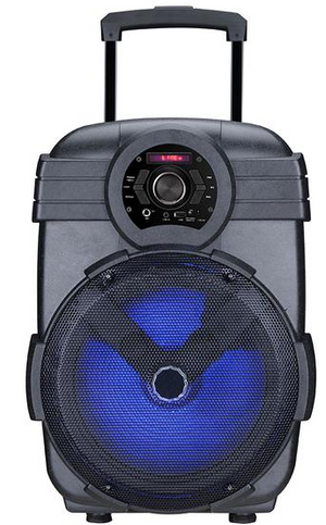 MPD1200M Max Power 12in Single Trolley Speaker With Rechargeable Battery