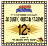 Duck's Deluxe 12's Lights Acoustic Guitar Strings