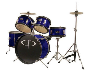 GP Percussion GP50 Junior 5pc Drum Kit Blue
