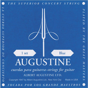 Augustine Classical Guitar Regal Blue String Set