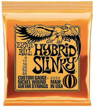 Ernie Ball 2222 Hybrid Slinky Nickel Wound 9 46 Electric Guitar Strings