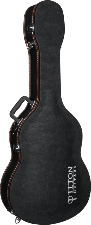 Teton TAF-3 Hardshell Guitar Case, Classical Black