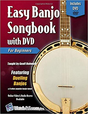 Easy Banjo Songbook For Beginners with DVD