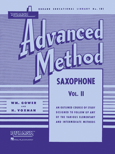 Advanced Method Saxophone Vol. 2