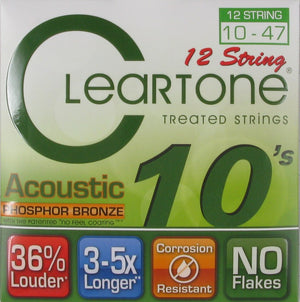 Cleartone 741012 12 String Set 10 47