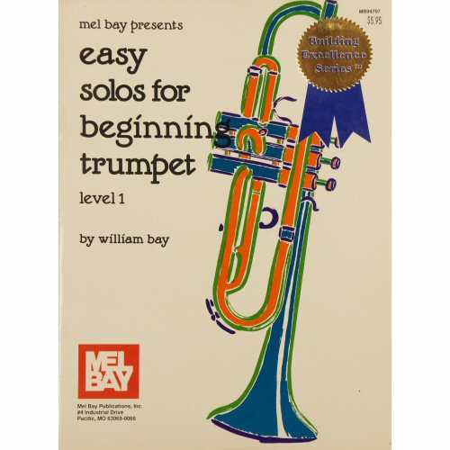 Easy Solos for Beginning Trumpet Level 1