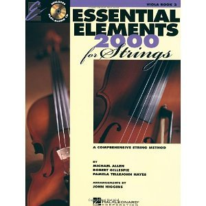 Essential Elements 2000 for strings: Viola Book 2 CD