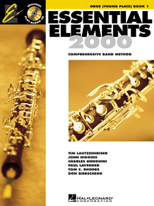 Essential Elements 2000 Oboe Book 1 CD/DVD