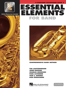 Essential Elements For Band Baritone Saxophone Book 2