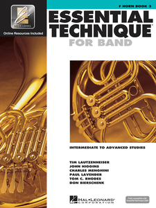 Essential Technique 2000 F Horn Book 3
