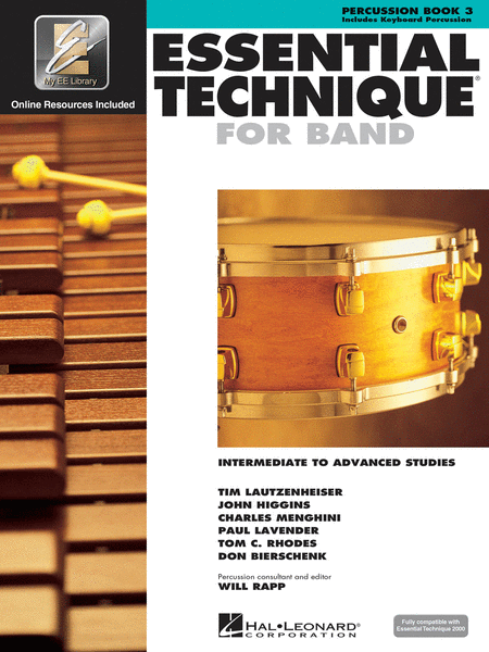Essential Technique 2000 Percussion Book 3