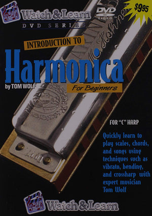 Introduction to Harmonica For Beginners DVD