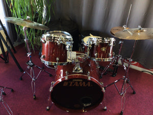 Tama Star Classic 5pc Drum Set W/ Throne and Bags