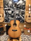 Breedlove Jeff Bridges Signature Concert Copper E Torrefied European African Mahogany