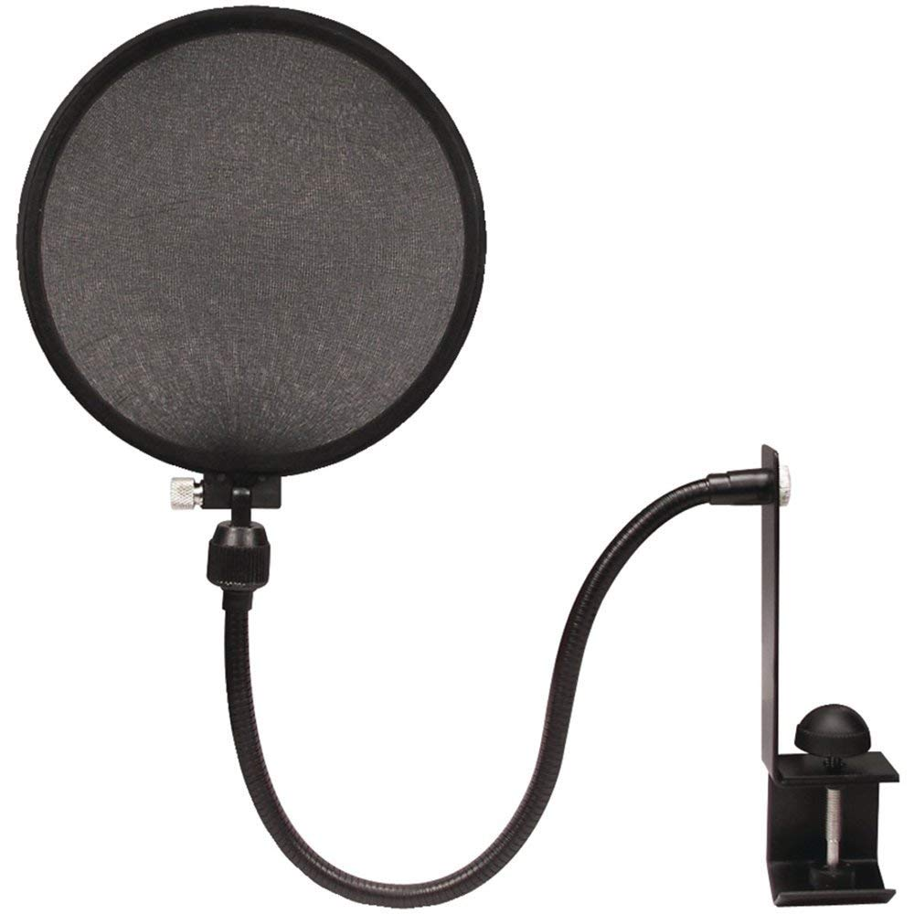 NADY SPF-1 Microphone Pop Filter with Boom Stand Clamp