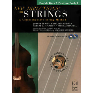 New Directions For Strings Double Bass A Positions Book 1