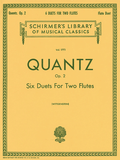 Quantz Op. 2 Six Duets for Two Flutes