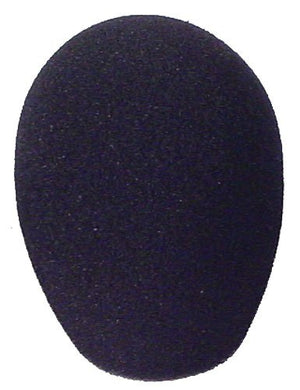 Johnson SC-202-BK Microphone Windscreen - Medium Black