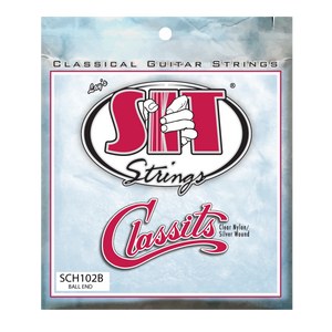 S.I.T. SCH102B Classits Silver Wound Ball End Classical Guitar Strings