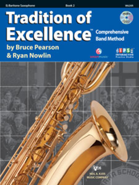 Tradition of Excellence Baritone Saxophone Book 2