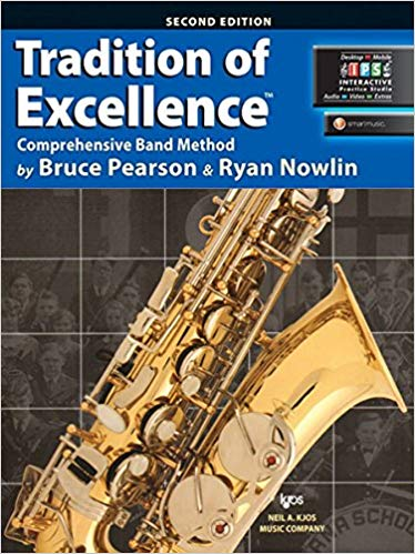 Tradition of Excellence Alto Saxophone Book 2