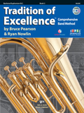 Tradition of Excellence Baritone BC Book 2