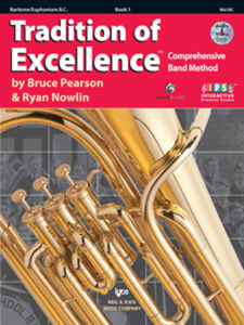 Tradition of Excellence Baritone BC Book 1