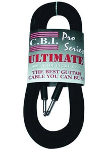 CBI Cables Ultimate 10ft Instrument Cable