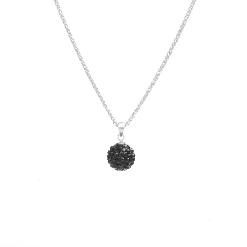 Midnight Sphere Necklace