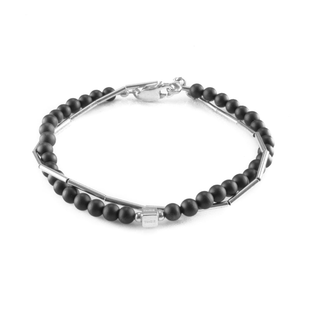Double Silver Night Bracelet